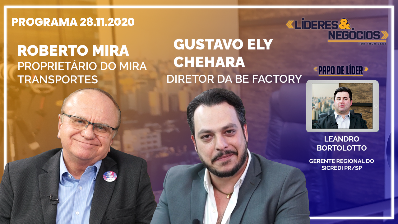 Roberto Mira, Leandro Bortolotto, Gustavo Ely Chehara | 28.11.2020